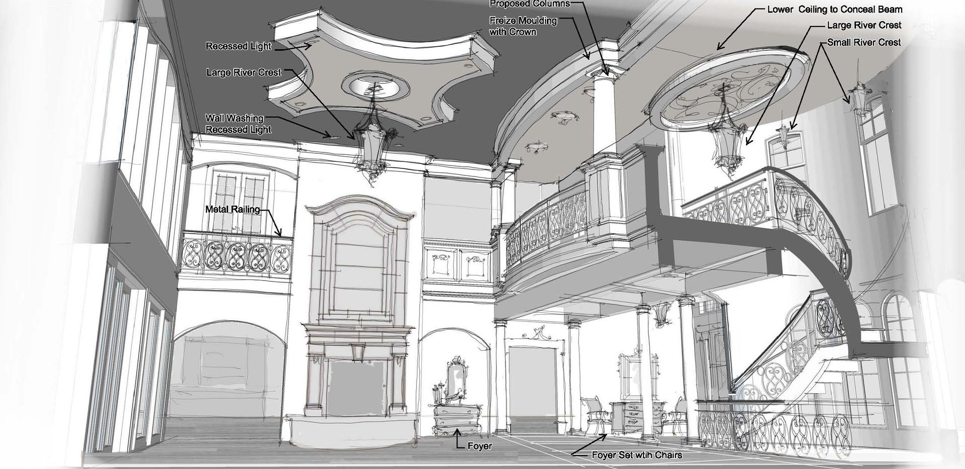 greatroom render Italianate Skaneatleles _Ramsgard