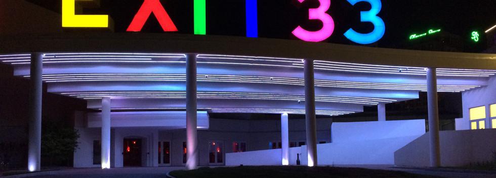 Exit 33 Sign rendering_ramsgard