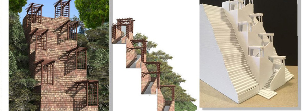 stair-proposal Skaneateles Site Development _Ramsgard