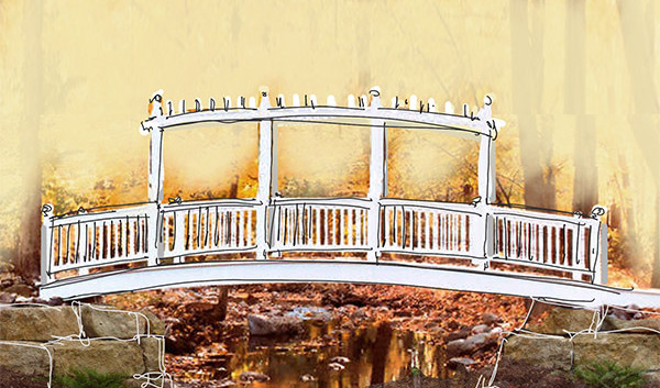 Bridge rendering Magnus Ridge Winery_Ramsgard