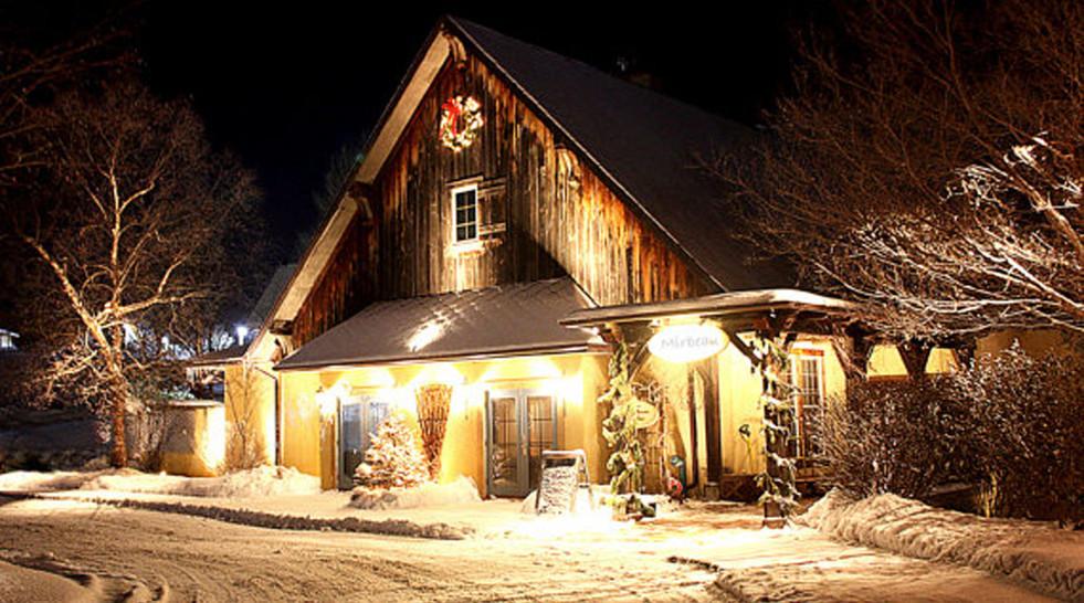Winter entry Mirbeau Inn & Spa _Ramsgard
