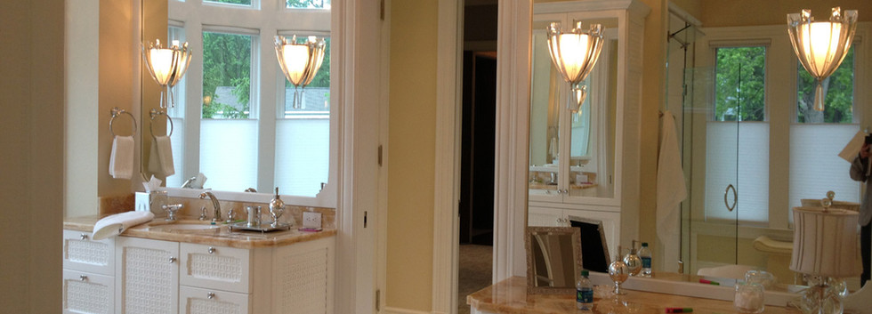 Master Bath vanity Italianate Estate _Ramsgard