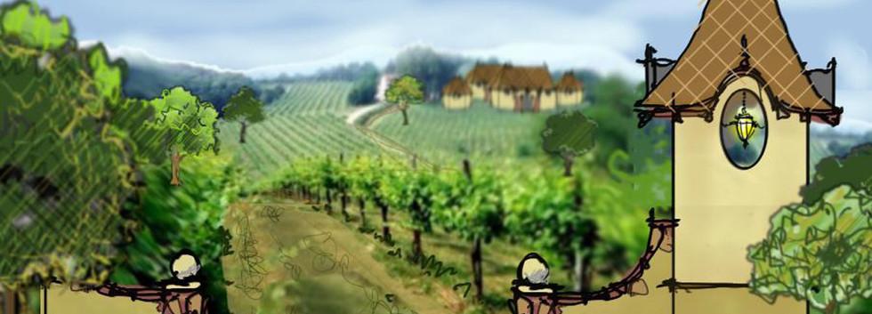 gate house Magnus Ridge Winery rendering_Ramsgard