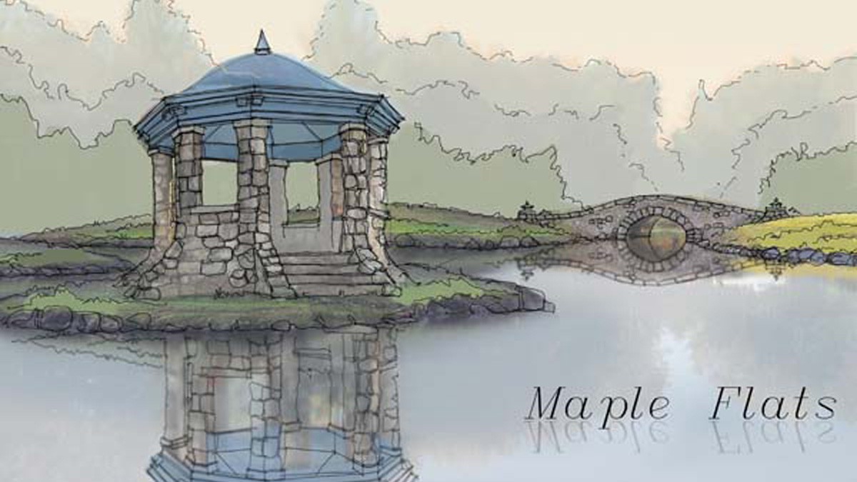 Maple Flats Gazebo sketch Tudor_Ramsgard