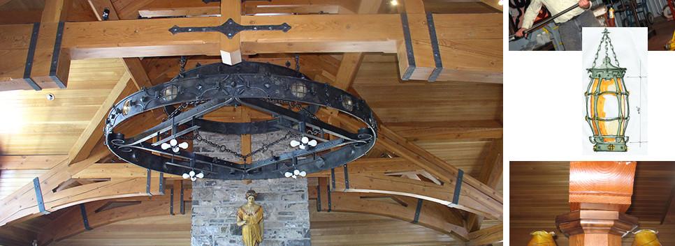 Lighting FIxtures Skaneateles Boat house Arts & Crafts_Ramsgard