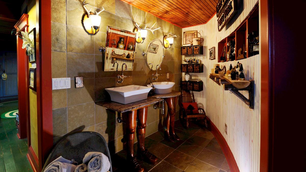 Master Bath Unusual sinks His & Hers_Ramsgard