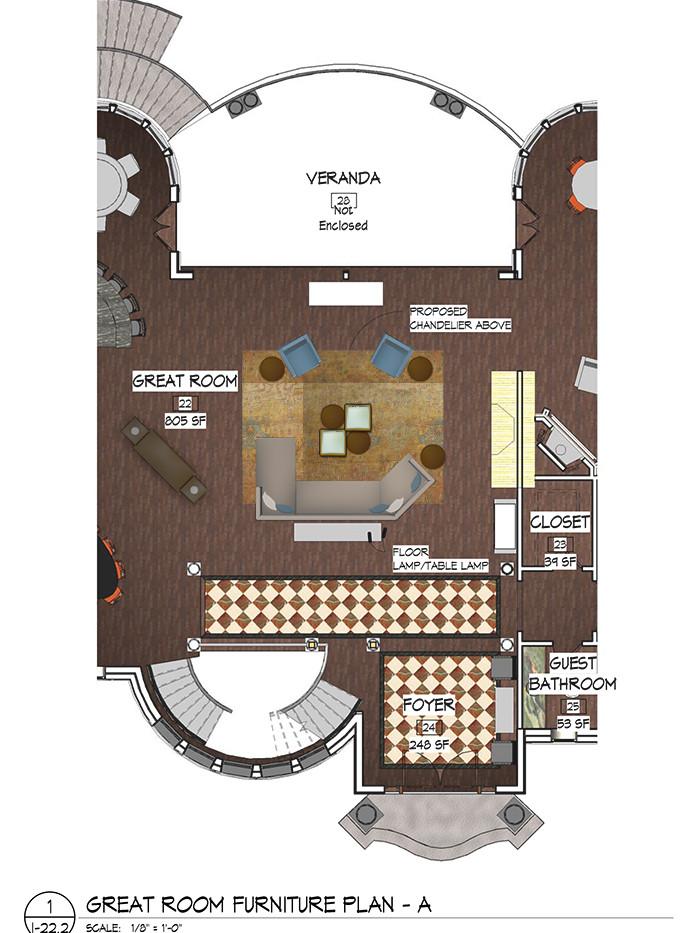 Great Room Furniture Plans Bar & Library Italianate Skaneatleles _Ramsgard