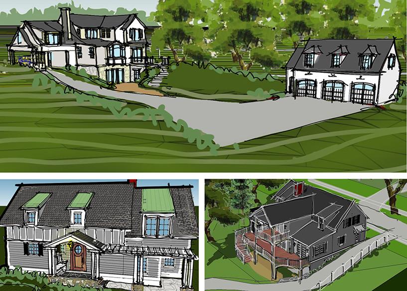 Lake house sketch _Ramsgard