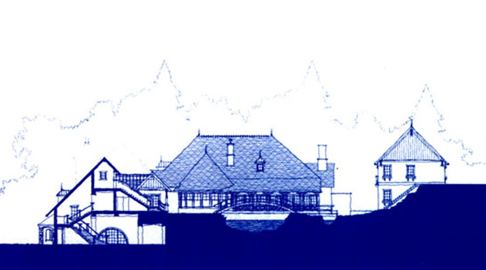 Elevation 2 Drawing Mirbeau Inn & Spa _Ramsgard