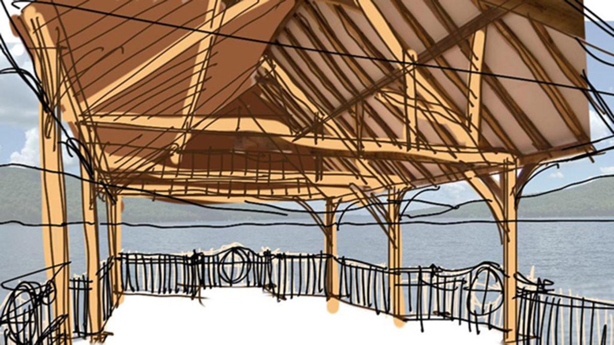 Timberframe Arts and Crafts Skaneateles_Ramsgard