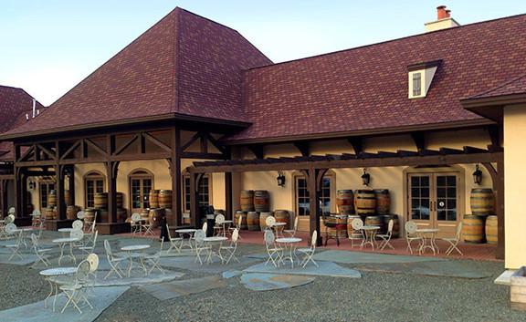 Back Elevation Magnus Ridge Winery_Ramsgard