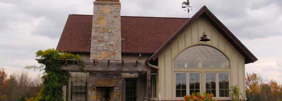 French Country Back Elevation Skaneateles._Ramsgard