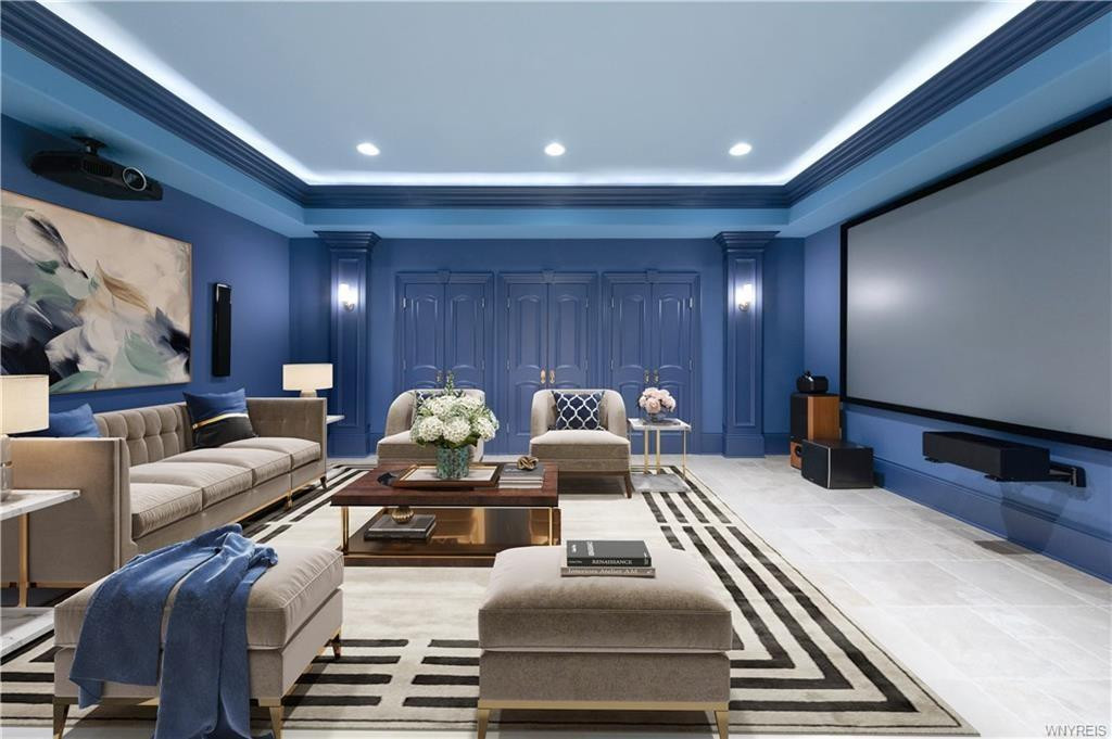 French Country Chateau_ Formal Living Room_Ramsgard