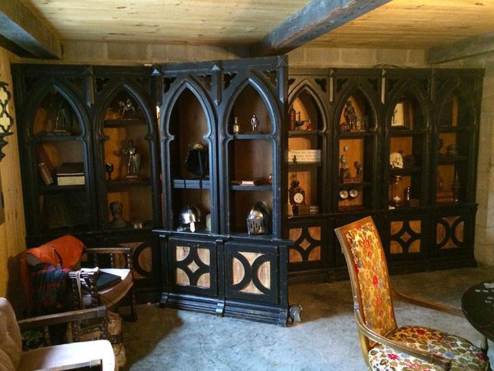 Library secret door Leary Castle _Ramsgard