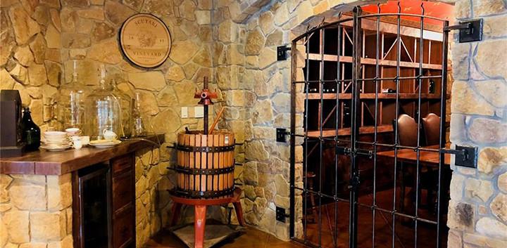Wine Cellar-stonework_irongate_Ramsgard
