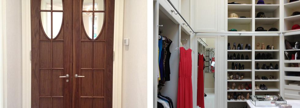 Master Closet  Italianate Estate _Ramsgard