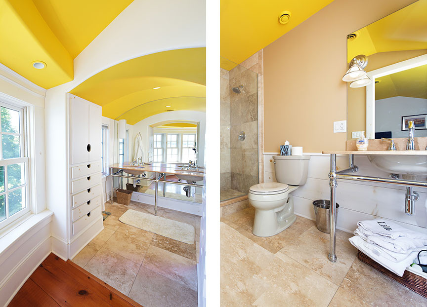 Master Bath Yellow WhiteCabinets_Ramsgard