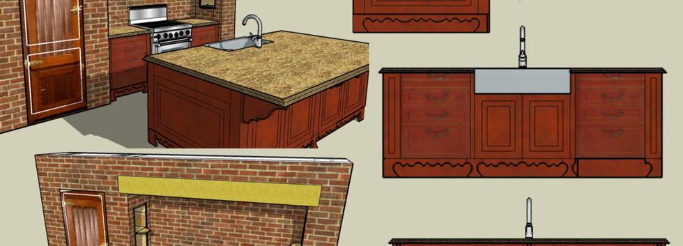 Kitchen Sketches Skaneateles_Ramsgard