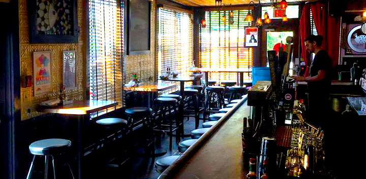 Interior Bar Maxie's Supper Club Ithaca_Ramsgard