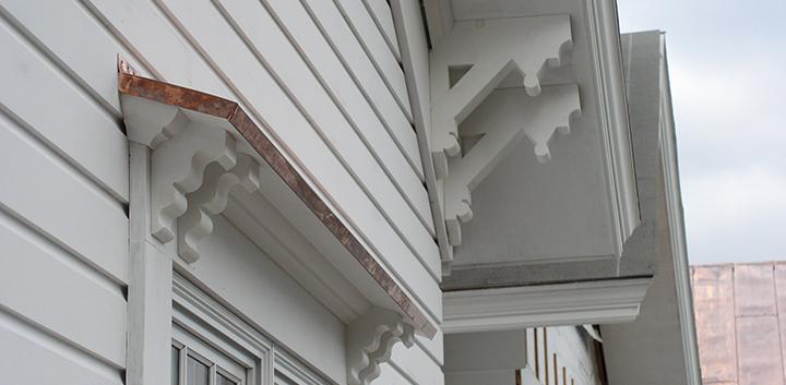 Exterior Detail Skaneateles Boat house Arts & Crafts_Ramsgard