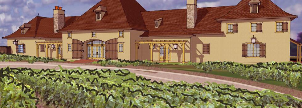 Magnus Ridge Winery rendering_Ramsgard