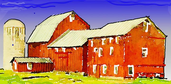 red barn _Ramsgard