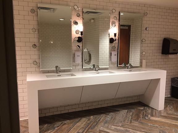 TC3 restroom Bathroom white cool unusual_Ramsgard