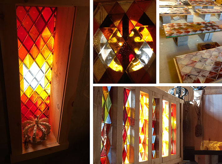 Stained GlassLeary Castle _Ramsgard