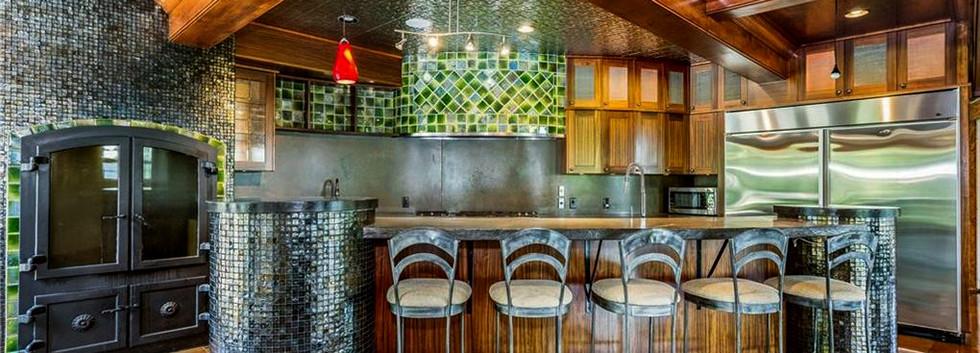 Bamerick Road Jamesvilletin ceiling green tile mirrored tile_Ramsgard