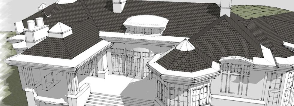 Porch  Italianate Estate _Ramsgard