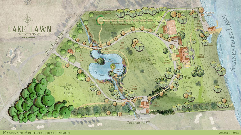 Lake Lawn Site Plan Skaneateles_Ramsgard