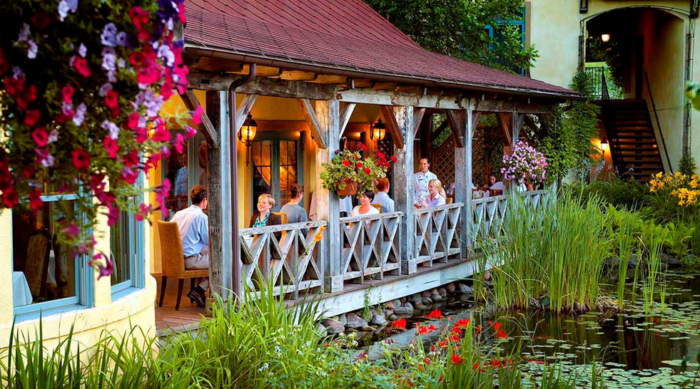 Dining Mirbeau Inn & Spa _Ramsgard