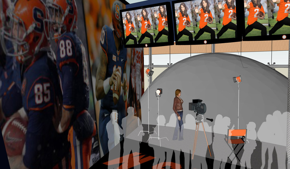 Media Room Cuse Express Destiny Syracuse_Ramsgard
