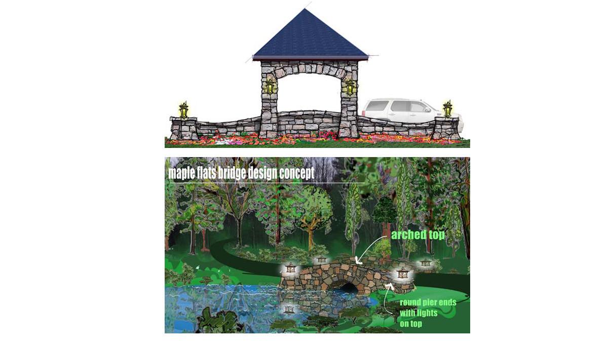 Site Developmentsketch Tudor_Ramsgard