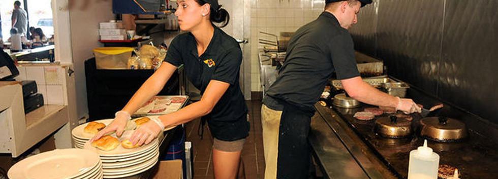 Cooking line Johnny Angel's Skaneateles_Ramsgard