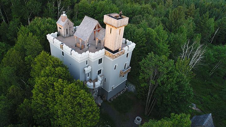 Drone Leary Castle_Ramsgard