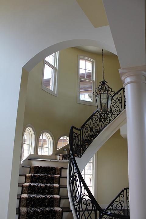 Stairway Italianate Skaneatleles _Ramsgard