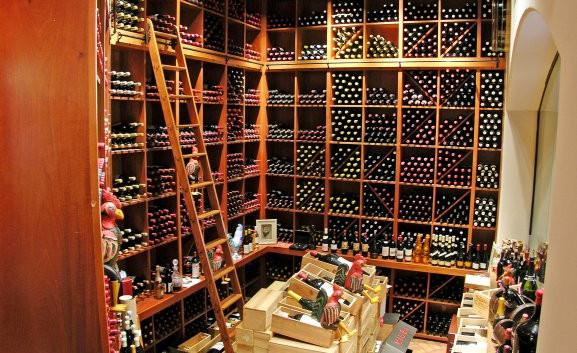 Wine Cellar Shelves _Ramsgard