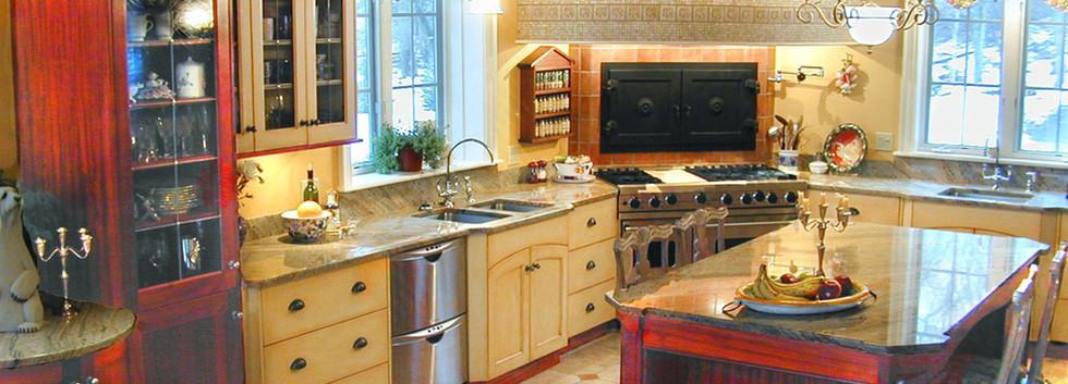 Mixed Kitchen Skaneateles_Ramsgard