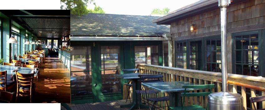 Blue Water interior exteriro SIgn Blue Water Restaurant Skaneateles Lake_Ramsgard