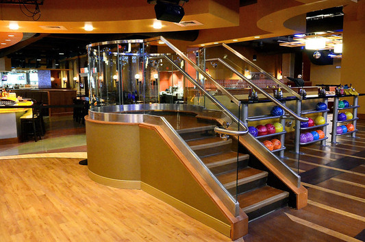 Stair Revolutions Destiny USA Bowling_Ramsgard