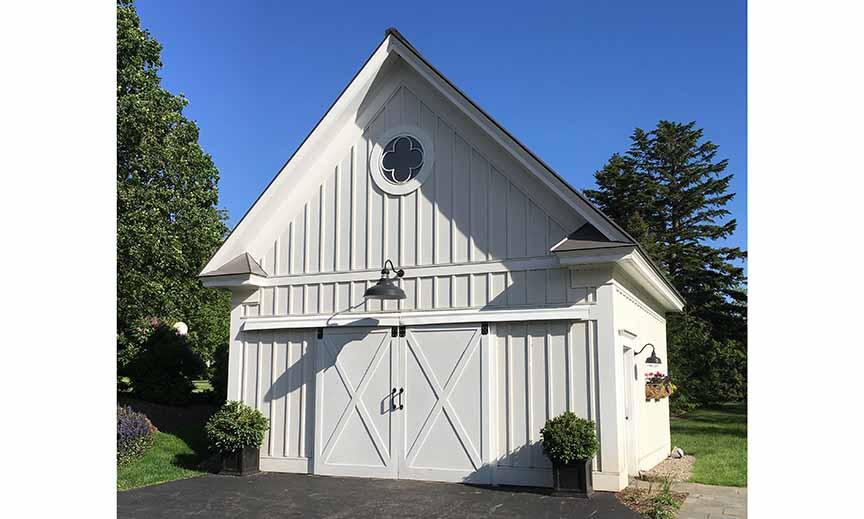 White barn _Ramsgard