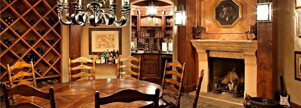 Wine CellarCarriage House Barn Skaneateles_Ramsgard