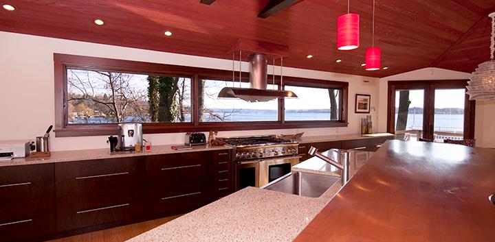 Lake Viw Modern Kitchen_Ramsgard