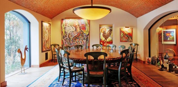 Contemporary Artist's Dining Strait-Lane_Ramsgard