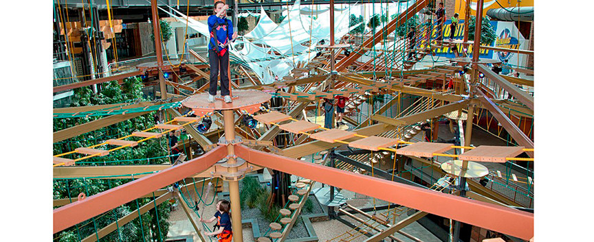 Ropes Course Wonder-Works DestinyUSA Family Fun_Ramsgard