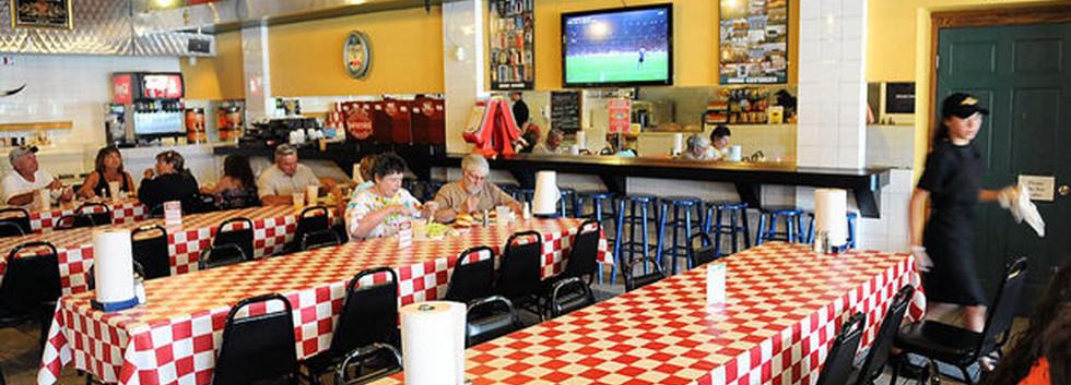 Interior Dining Johnny Angel's Skaneateles_Ramsgard