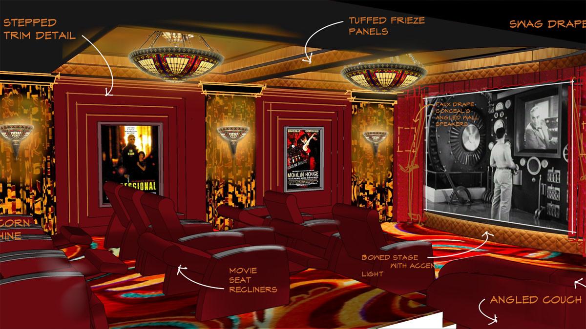 Maple Flats Theater sketch Tudor_Ramsgard