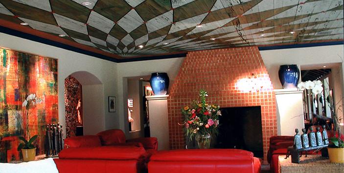 Contemporary Painted Ceiling Strait-Lane_Ramsgard