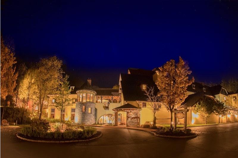 Mirbeau Inn & Spa Night Exterior_Ramsgard